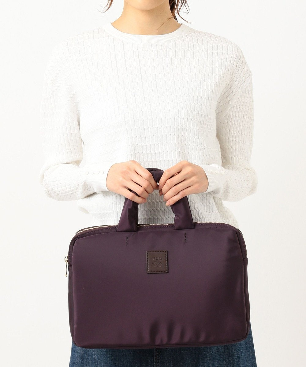 組曲 【軽量・ノートパソコン】PC・タブレット用  バッグ ダークブラウン系