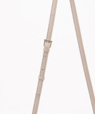 any FAM 【セレモニー】リボン2WAYミニ ショルダーバッグ ライトグレー系