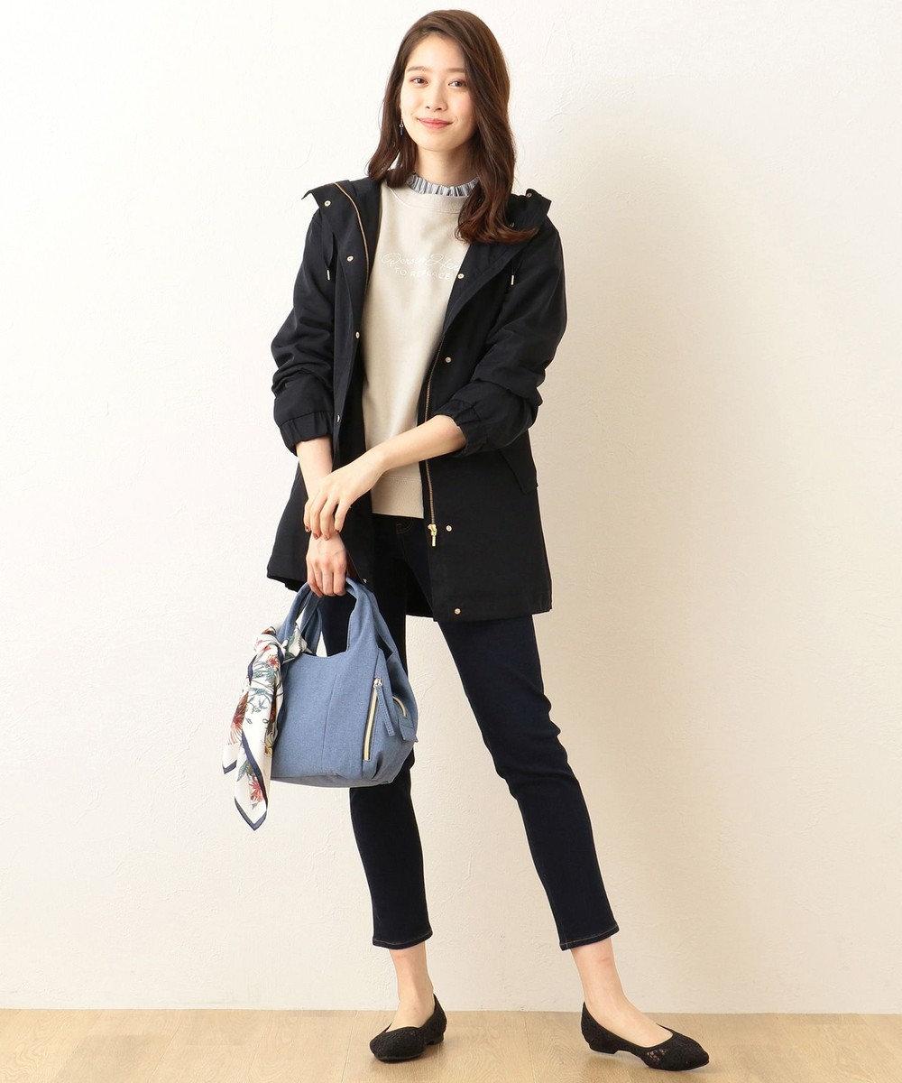 any FAM 【2WAY】くり手 トートバッグ ブルー系