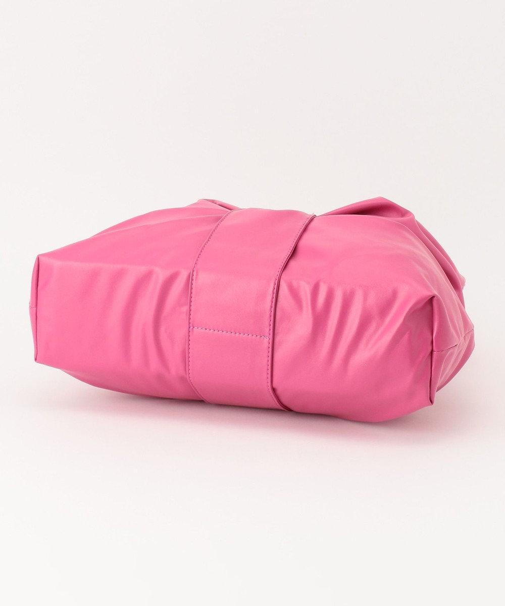 any FAM リボン トートバッグ ピンク系