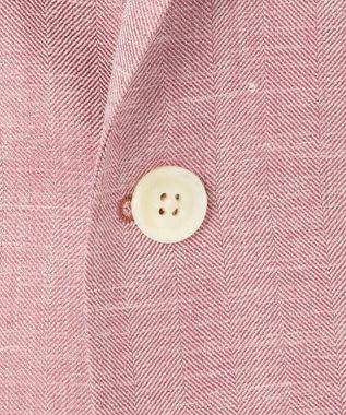DAKS 【LORO PIANA素材】ウールシルクリネンヘリンボーン ジヤケツト ピンク系8