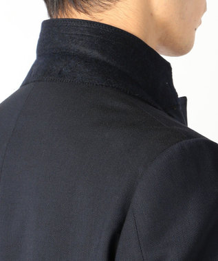 J.PRESS MEN 【WEB&一部店舗限定】裏地パターン ブレザー ネイビー系4