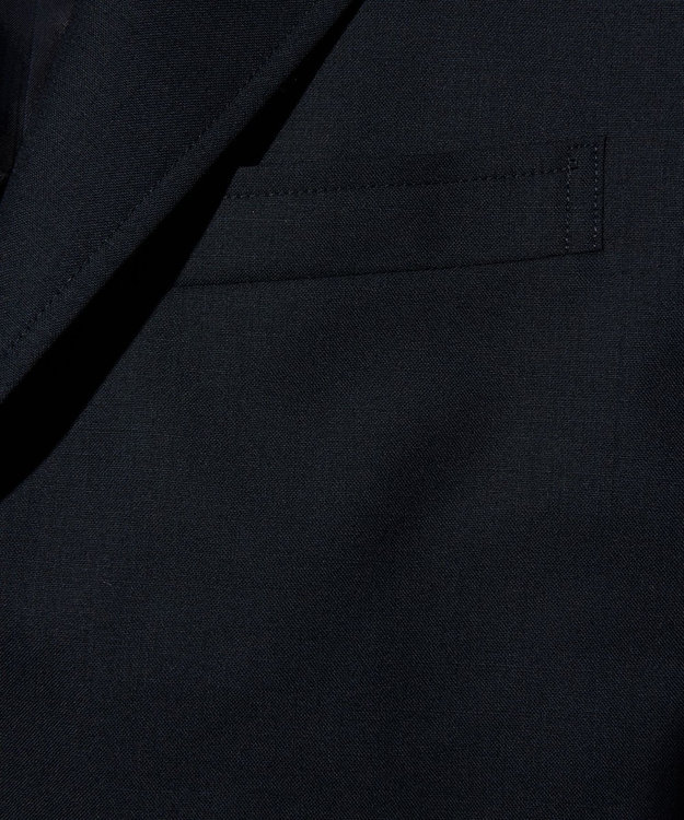 J.PRESS MEN 【J.PRESS BASIC】ペピンメリノトロピカル 紺ブレザー / 背抜き