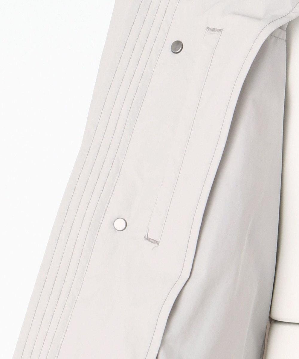 JOSEPH ABBOUD 【洗える】ハイカウントツイル コート ライトグレー系