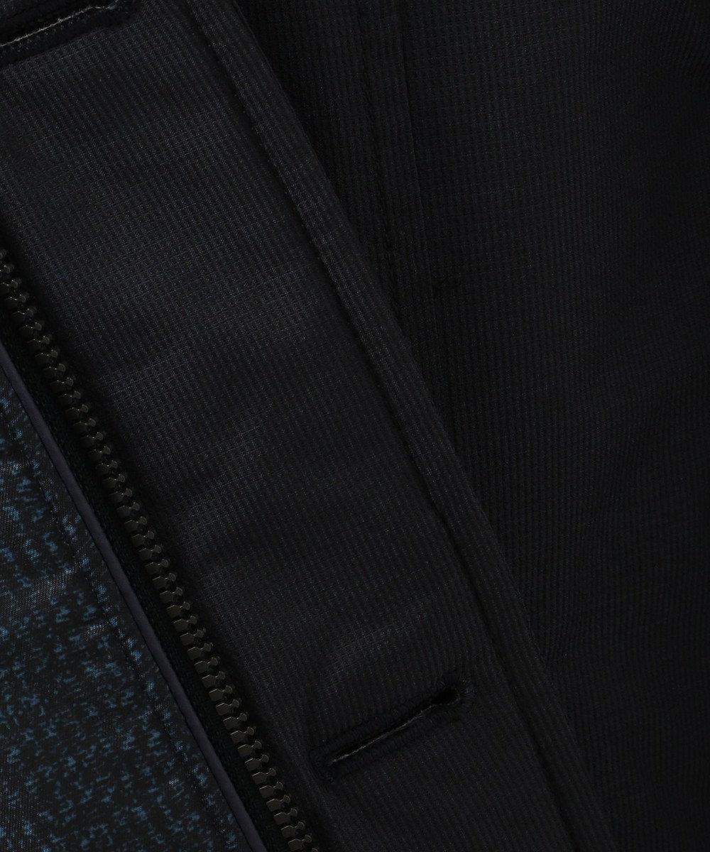 JOSEPH ABBOUD 【キングサイズ・3WAY】ADSインターレースジャガード コート ネイビー系