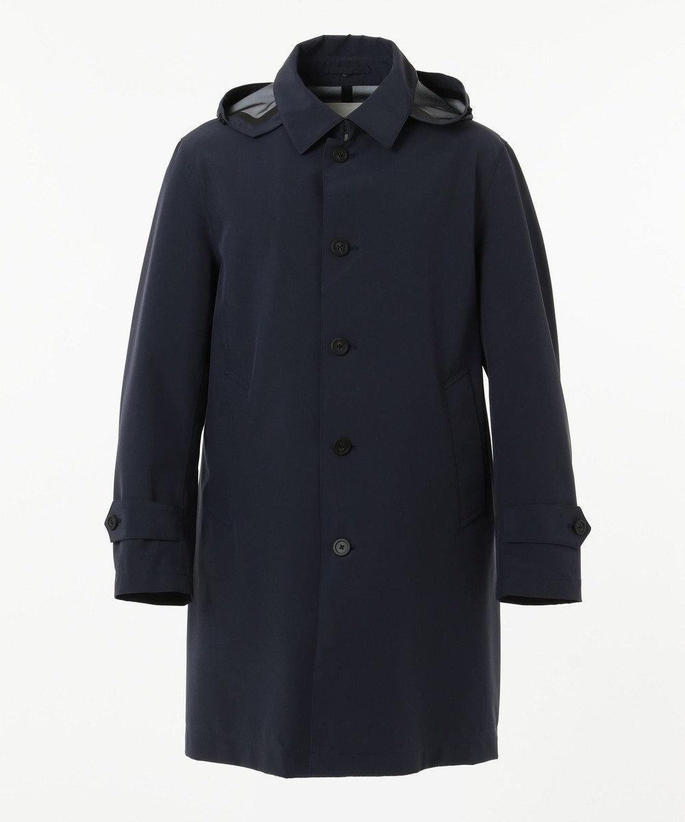 J.PRESS MEN 【J.PRESS PLUS】ウールライクポリステンカラー コート ネイビー系