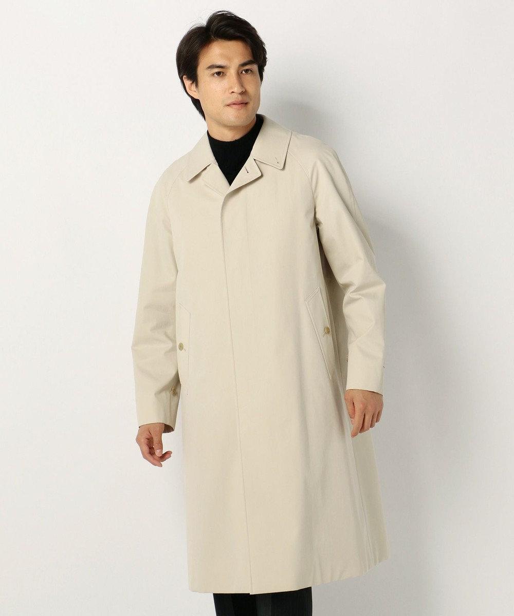 J.PRESS MEN 【ORIGINALS】VENTILE  ギャバジン バルマカーン コート アイボリー系
