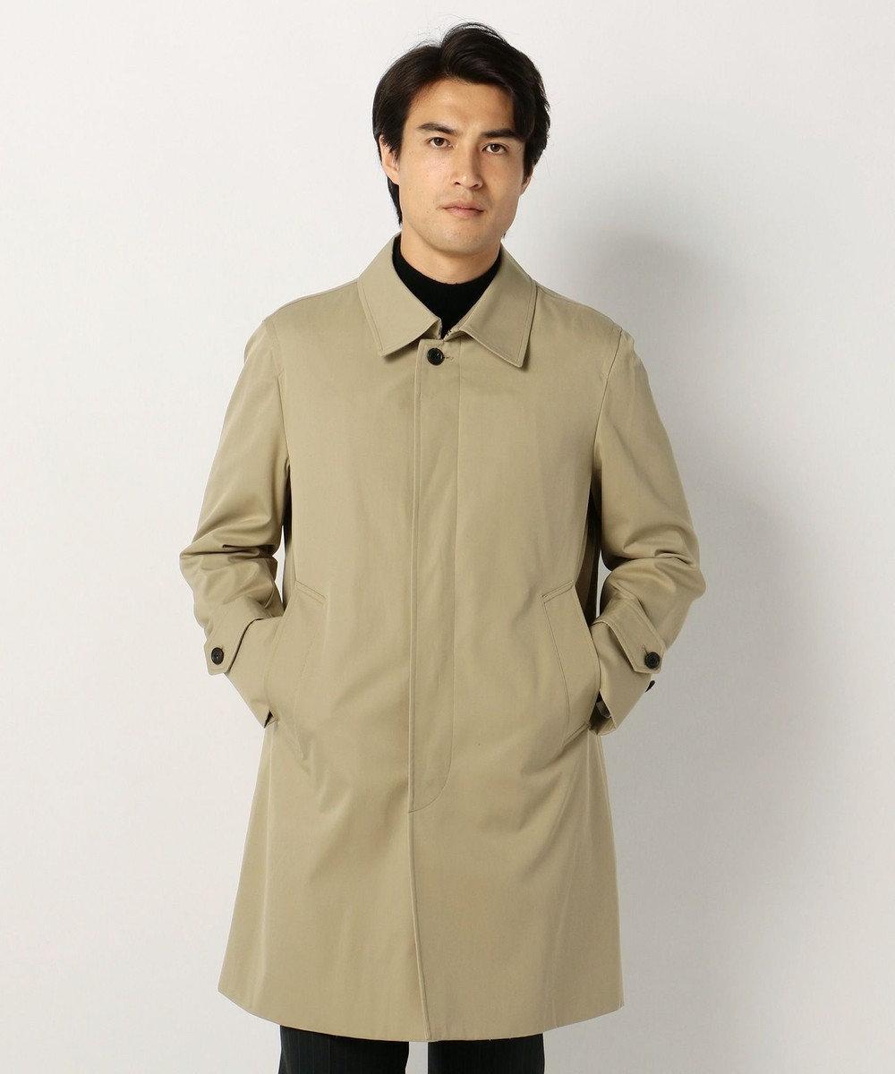 J.PRESS MEN ステンカラー コート ベージュ系