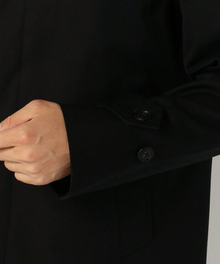 J.PRESS MEN ステンカラー コート ネイビー系