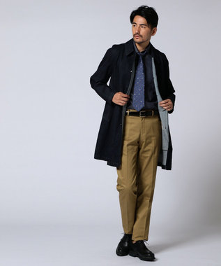 J.PRESS MEN 【CANTON】オリジナル  ストレッチデニム コート ネイビー系