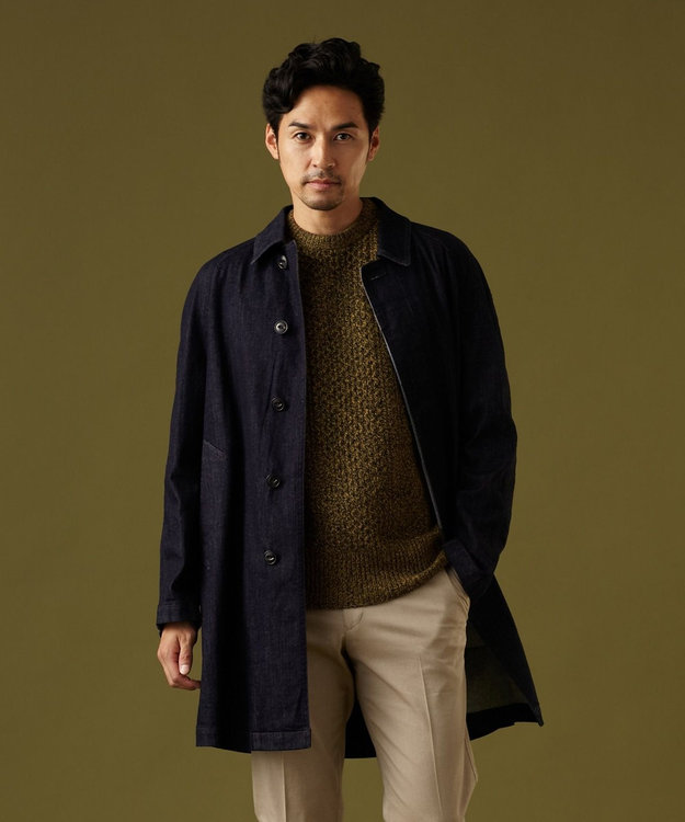 J.PRESS MEN 【CANTON】オリジナル  ストレッチデニム コート