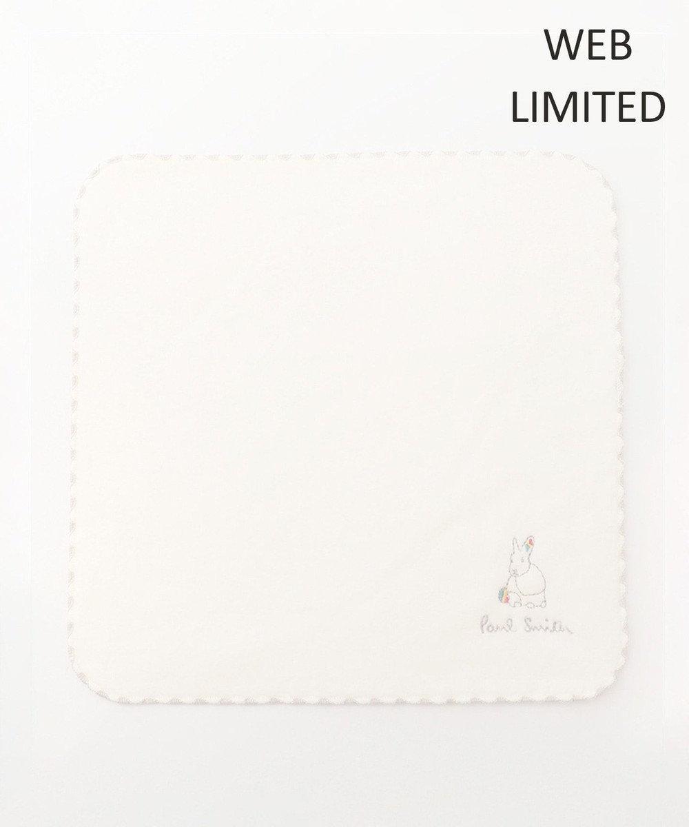 Paul Smith 【WEB限定アイテム】 ラビット ハンカチ ホワイト系