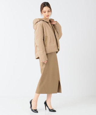 BEIGE, 【待望の再入荷】DERRIL / ショートダウンコート Camel