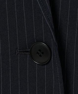 ICB Nylon Stripe コート ネイビー系1