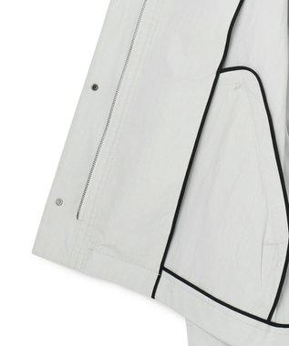 ICB 【洗える】 Ridge マウンテンパーカー スカイブルー系