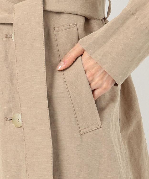 ICB L 【VERY3月号掲載】Bio Linen トレンチ コート