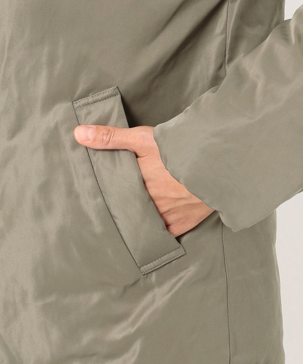 any FAM L 【洗える】ソロナファイバー 中綿ジャケット