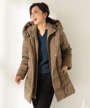 any FAM 【洗える】2WAY ダウンコート キャメル系