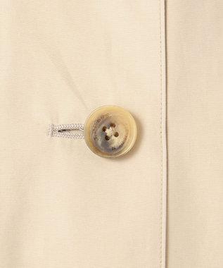 J.PRESS LADIES L 【撥水加工】洗えるARS VINAタッサー レインコート ベージュ系