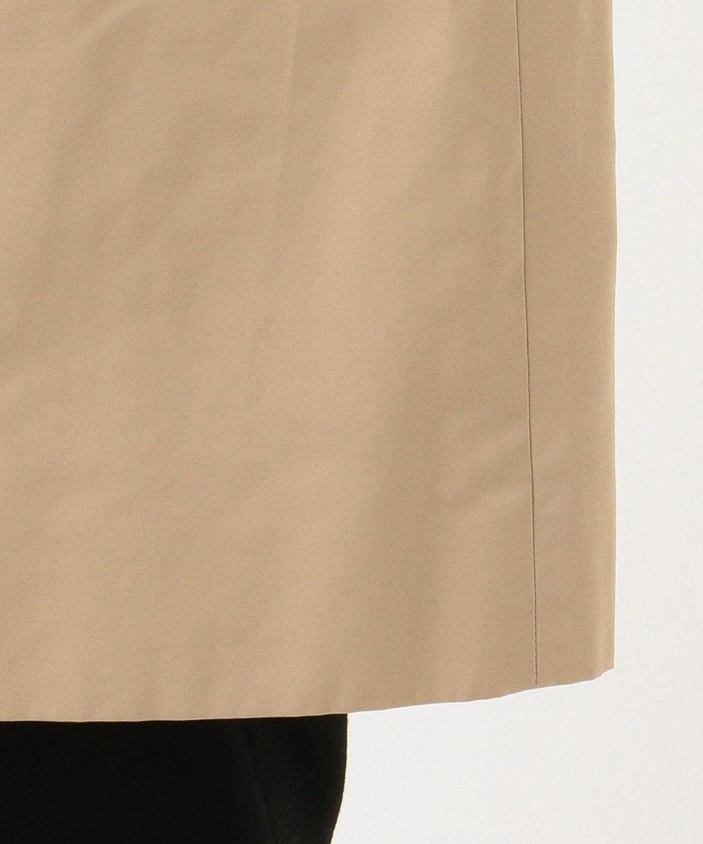 J.PRESS LADIES S 【洗える】ソフトメモリーグログラン スタンドカラーコート ベージュ系
