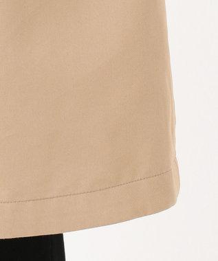 J.PRESS LADIES L 【撥水加工・シワになりにくい】コットンナイロンドライチェック コート ベージュ系