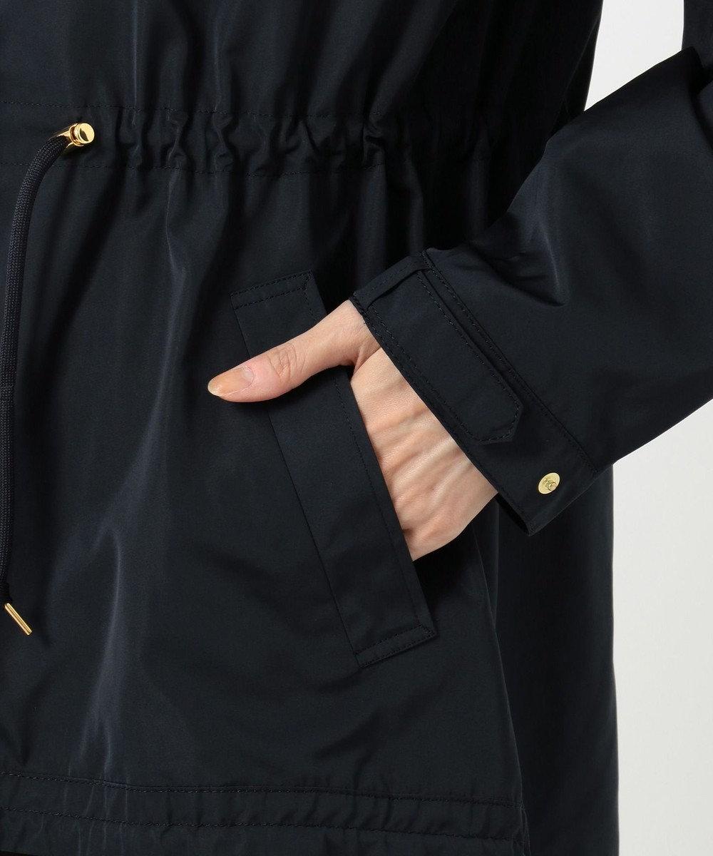 J.PRESS LADIES 【撥水加工】シェイプメモリータフタII ブルゾン ネイビー系