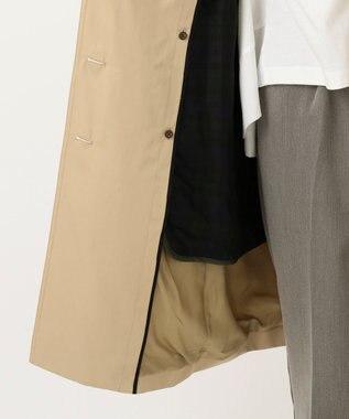 J.PRESS LADIES L 【撥水加工】70/2ギャバベンタイルライナー付き トレンチコート キャメル系