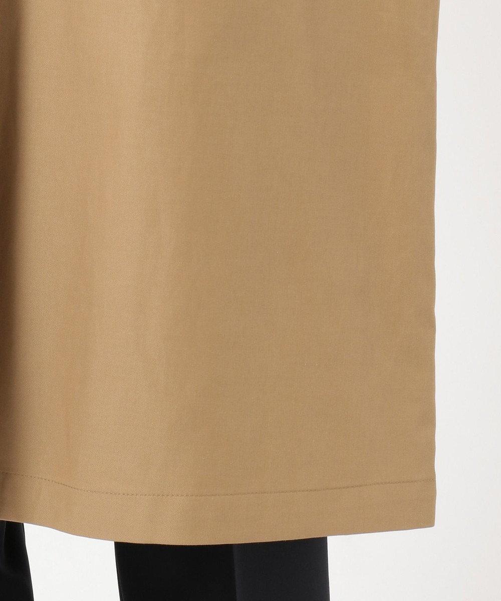 J.PRESS LADIES 【撥水加工】ヴェルダムシャンブレーリバー ステンカラーコート キャメル系