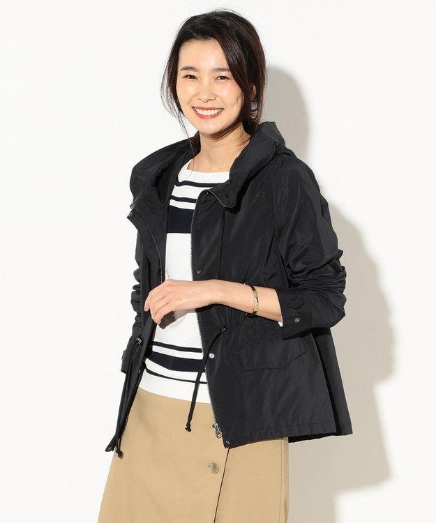J.PRESS LADIES S 【洗える】NEW GU フード付きブルゾン