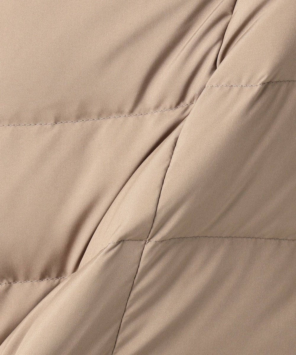 J.PRESS LADIES L 【WEB限定色あり】ブラッシュドマルチポリ ロング ダウンコート ベージュ系