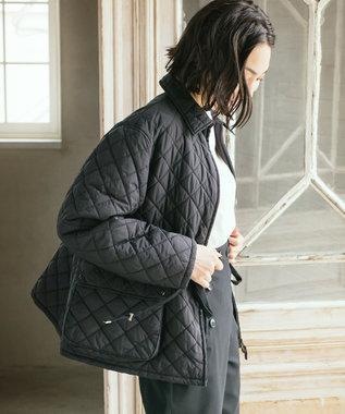 JOSEPH 【JOSEPH STUDIO・洗える】ライトキルティング コート ブラック系
