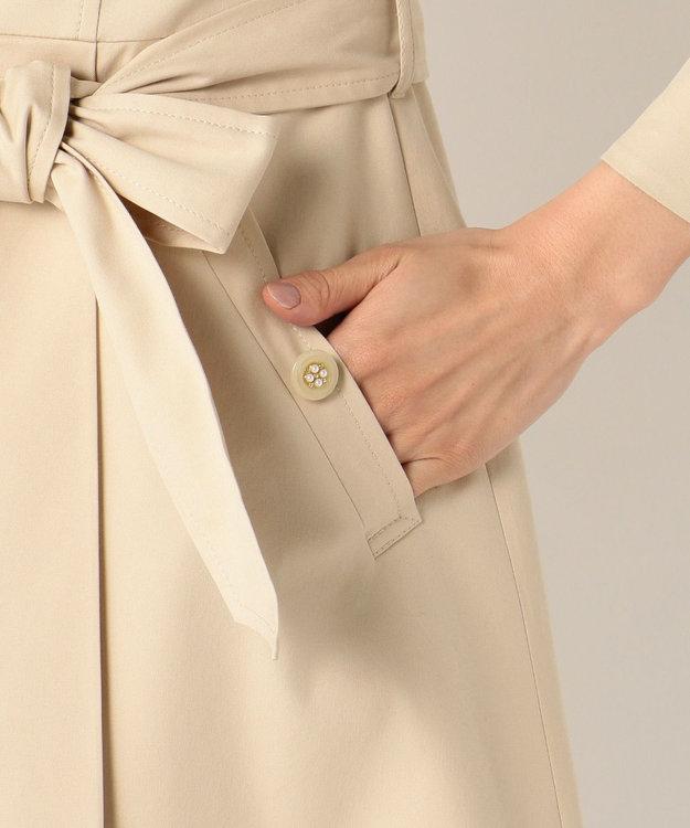 Feroux スプリングフラワートレンチ コート