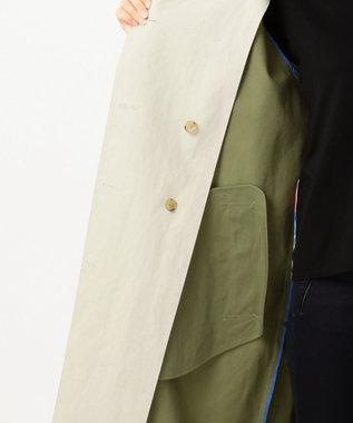 Paul Smith カラーコントラスト コート ライトグレー系