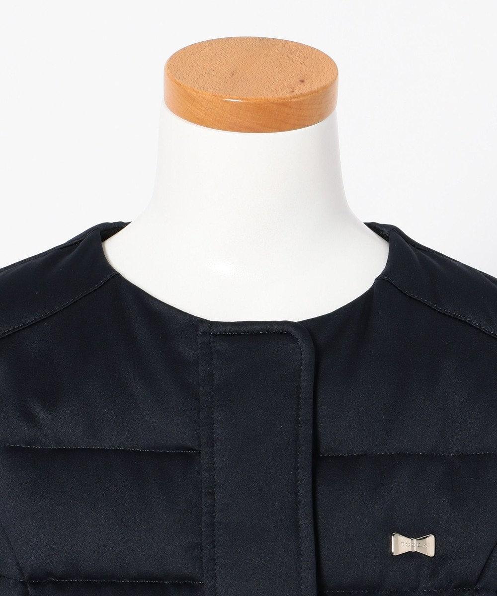 TOCCA BAMBINI 【KIDS】レーシーサテンダウン コート ネイビー系