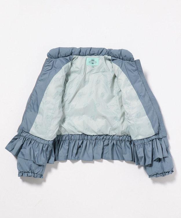 TOCCA BAMBINI 【SCHOOL】パウダリーリボンダウン コート