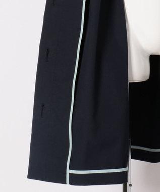 TOCCA BAMBINI 【SCHOOL】フラワースカラップコート ネイビー系