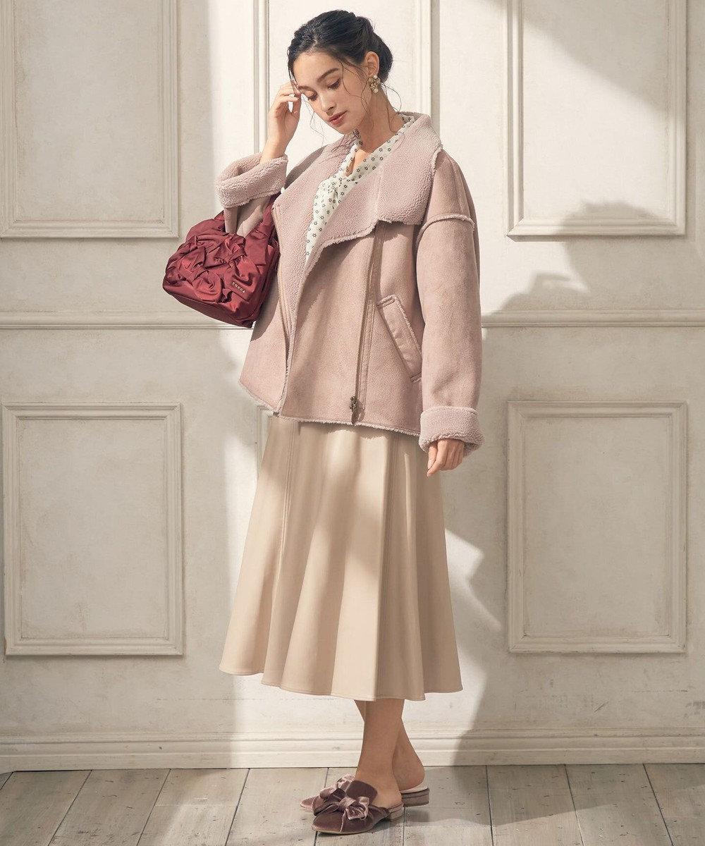 TOCCA 【TOCCA LAVENDER】Eco Mouton Jacket ジャケット ピンク系