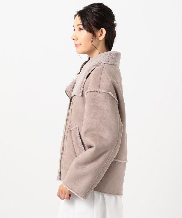 TOCCA 【TOCCA LAVENDER】Eco Mouton Jacket ジャケット