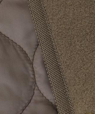 自由区 L 【UNFILO】マシュマロフリース リバーシブル コート (検索番号:UN69) ブラウン系