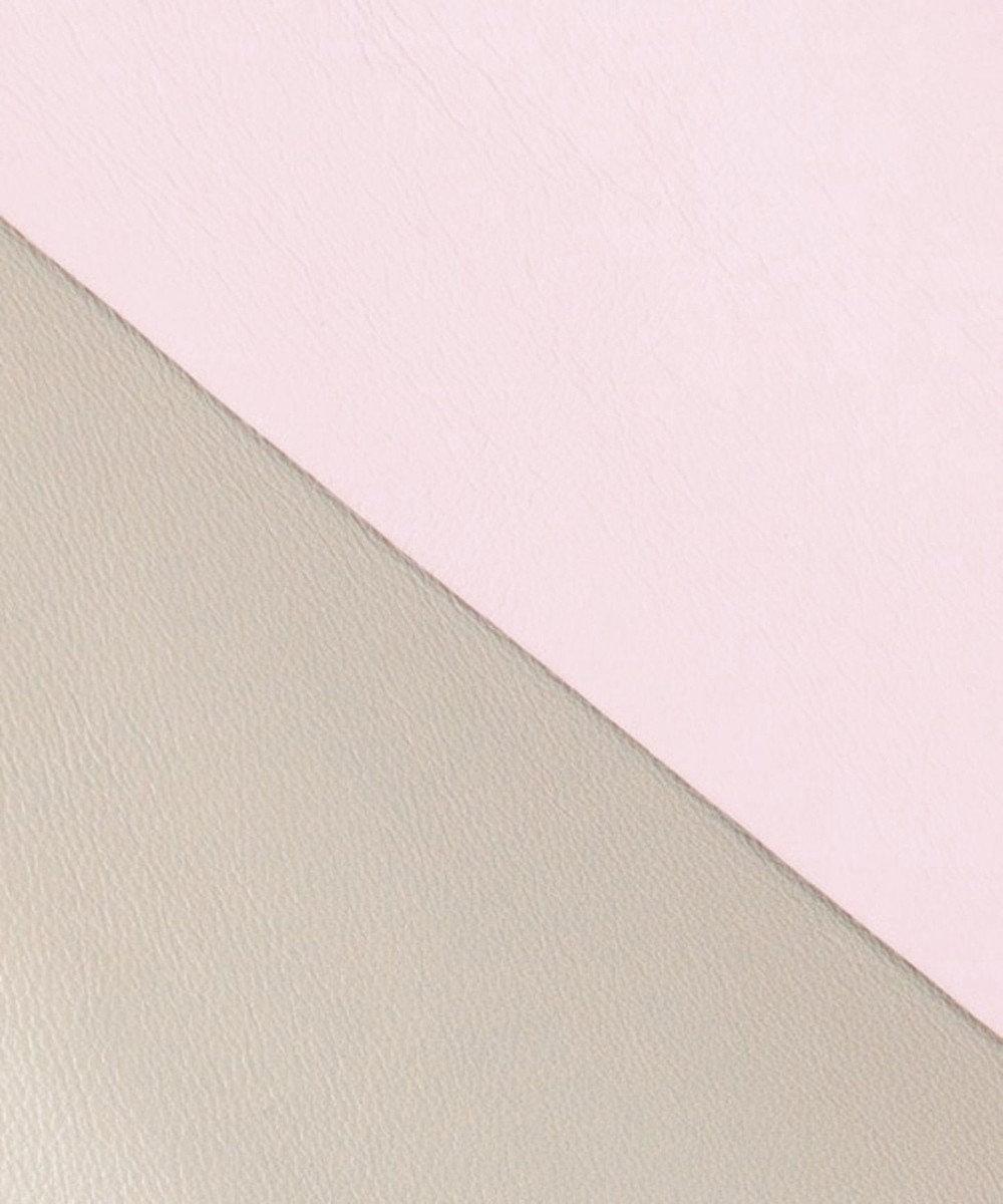自由区 COLOMER ラムレザー コート ライトグレー系