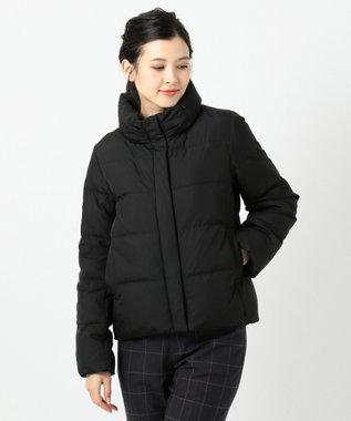 any SiS L 【洗える】スタンドカラーショート ダウン ブラック