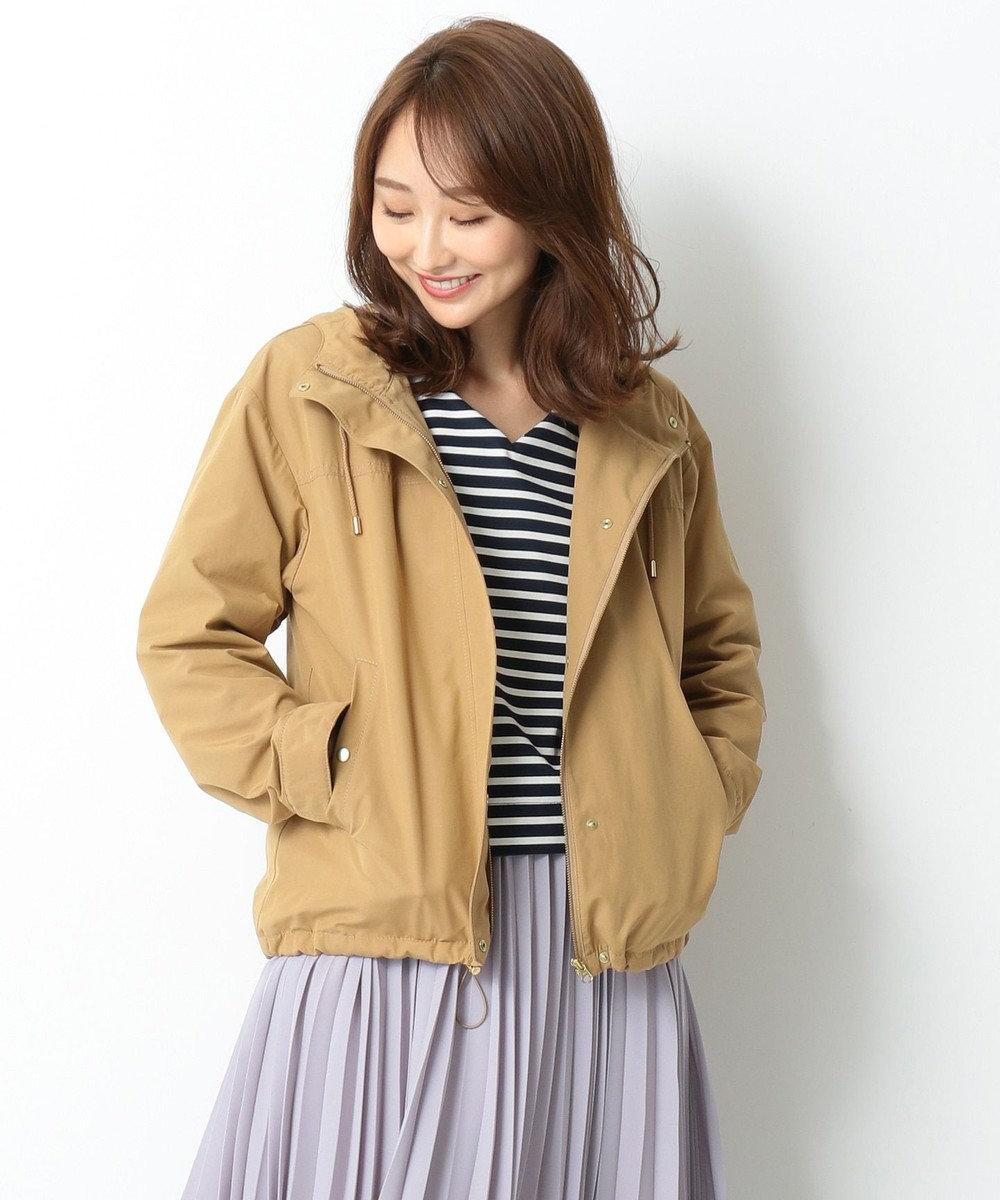 any SiS L 【撥水加工】フーディマウンテン パーカー キャメル