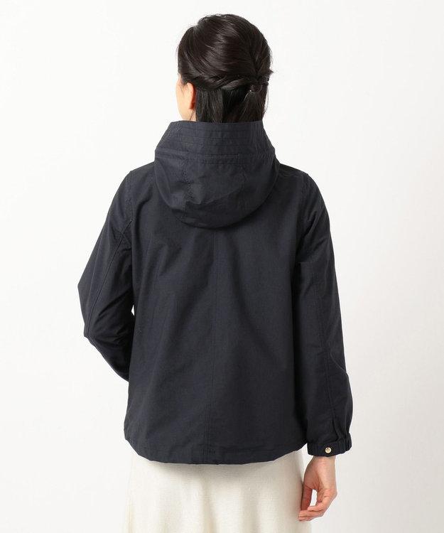 any SiS S 【洗える】ショート モッズコート パーカー