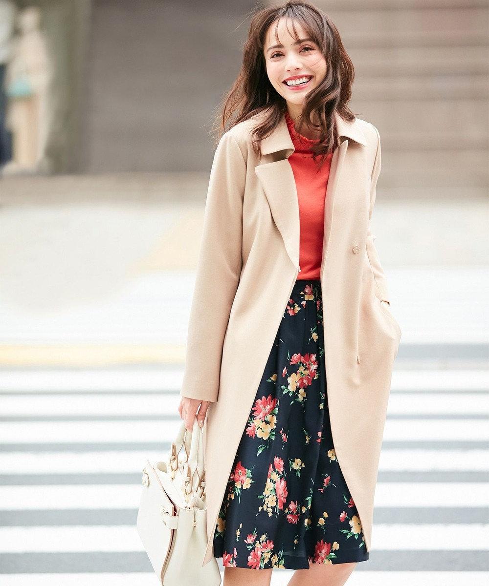 any SiS L 【蓄熱中綿】ウォーム スプリング コート ベージュ系