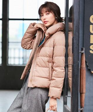 any SiS 【洗える】ショールスタンドレディ ダウン ライトモカ