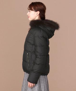 any SiS 【2WAY】リバーシブルショート ダウン ブラック