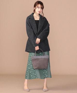 any SiS L 【高機能!ADS採用】ウールミルド ダウン コート チャコールグレー