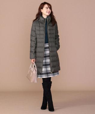 any SiS 【洗える】レディスタンド ロングダウン グレー系