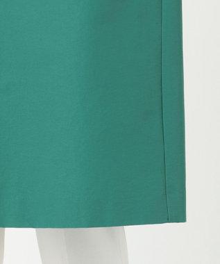 組曲 S C/Nyクロス ノーカラーコート グリーン系