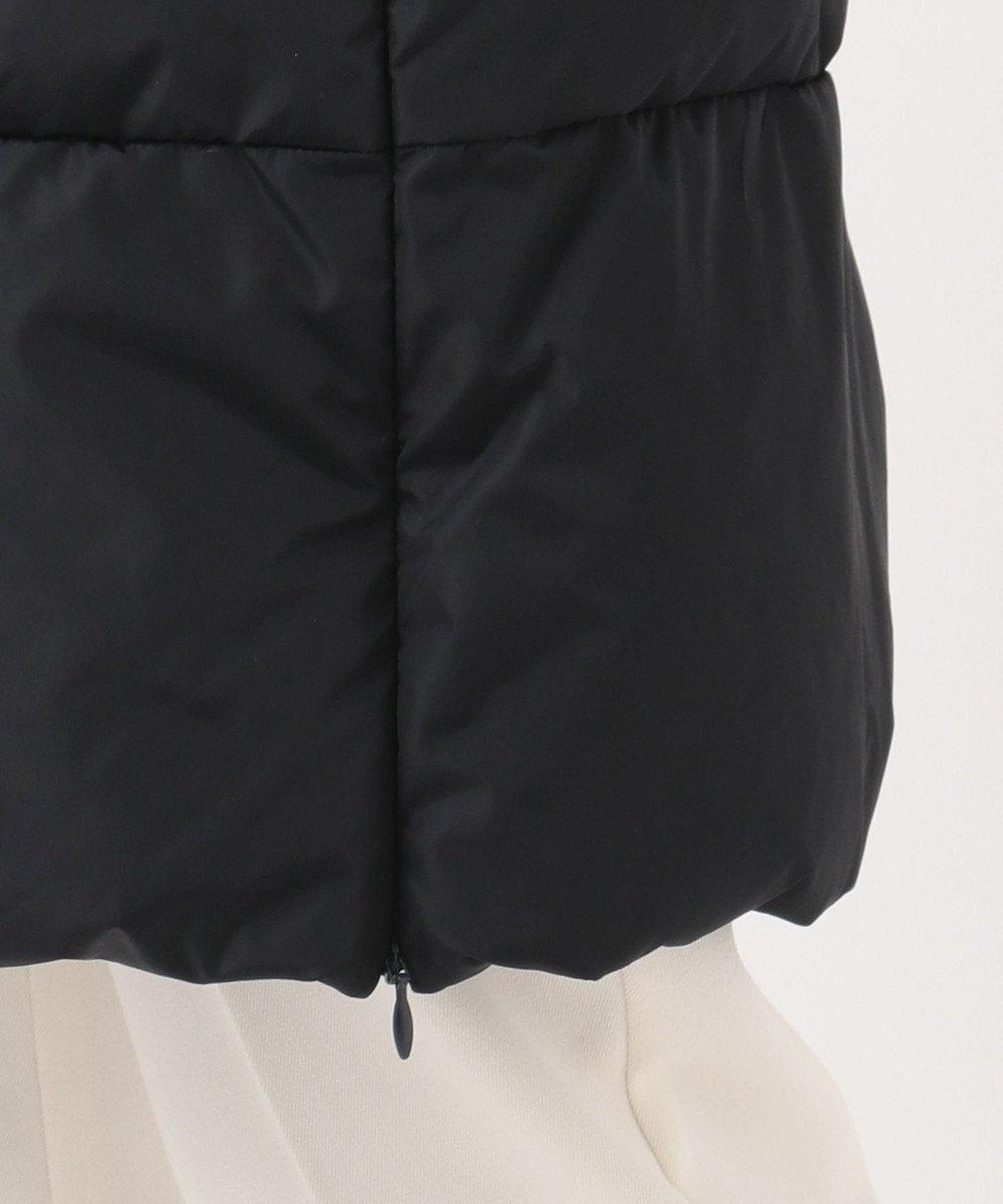 組曲 【洗える】ナイロンタフタ ロングダウンコート ネイビー系